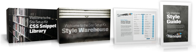 Site Setup Kit Bonuses