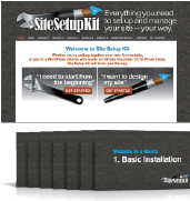 Site Setup Kit plus Website in a Month